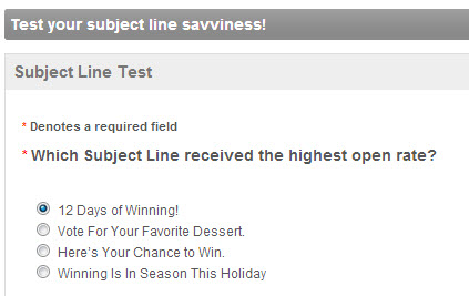 the secret to great subject lines in email marketing