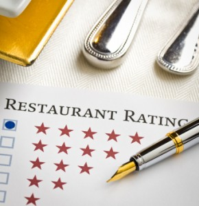 the correlation between restaurant reviews and profitability