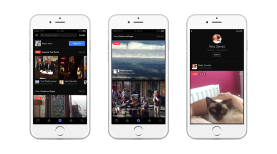 Facebook Live vs. Periscope: Live Streaming Video Goes Mainstream