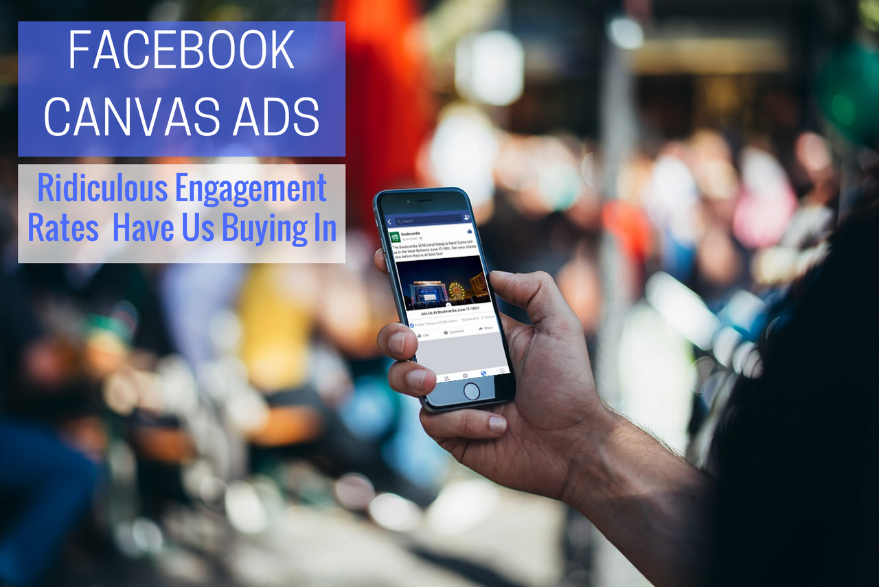 Facebook Canvas Ads: The Ridiculous Engagement Rates Have Us Buying In