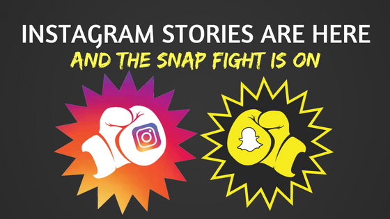 Instagram Stories: The Snap Fight is On