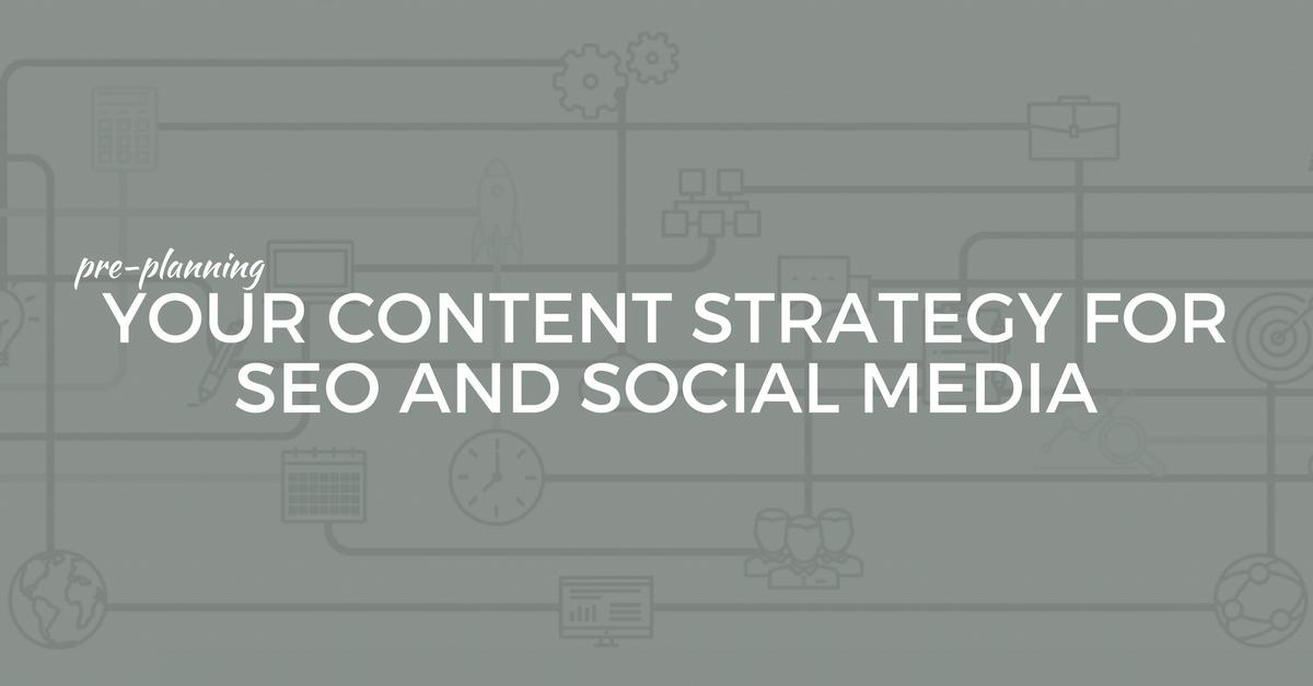 Content Calendar for SEO and Social Media