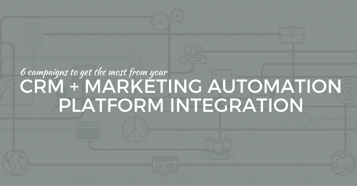 crm marketing automation campaign examples