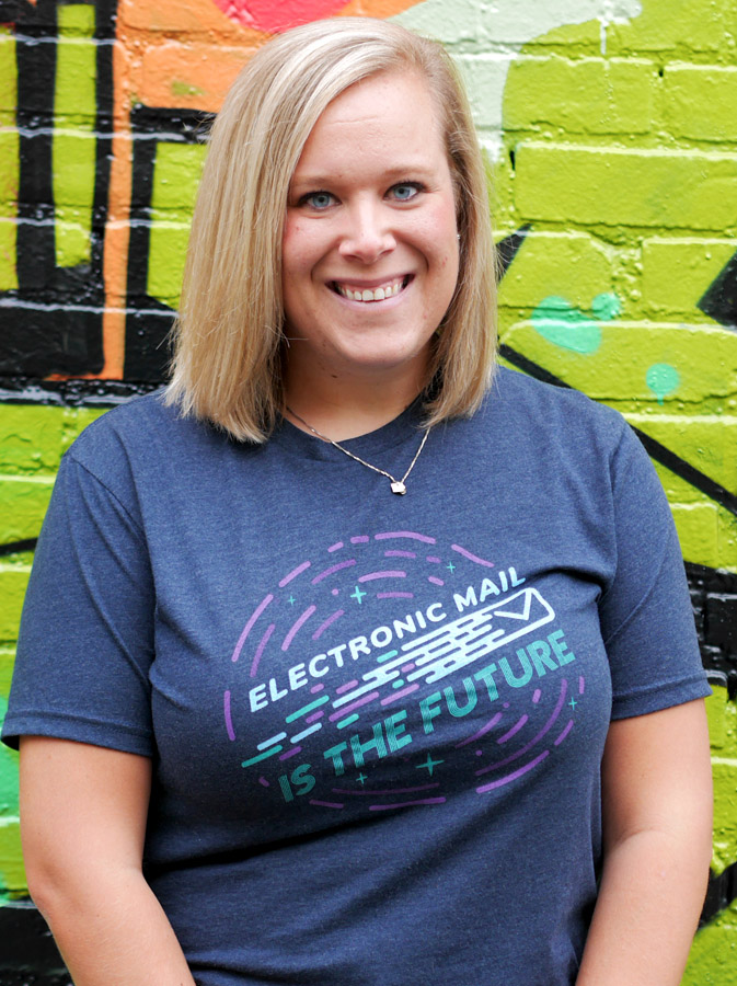 electronic mail tshirt