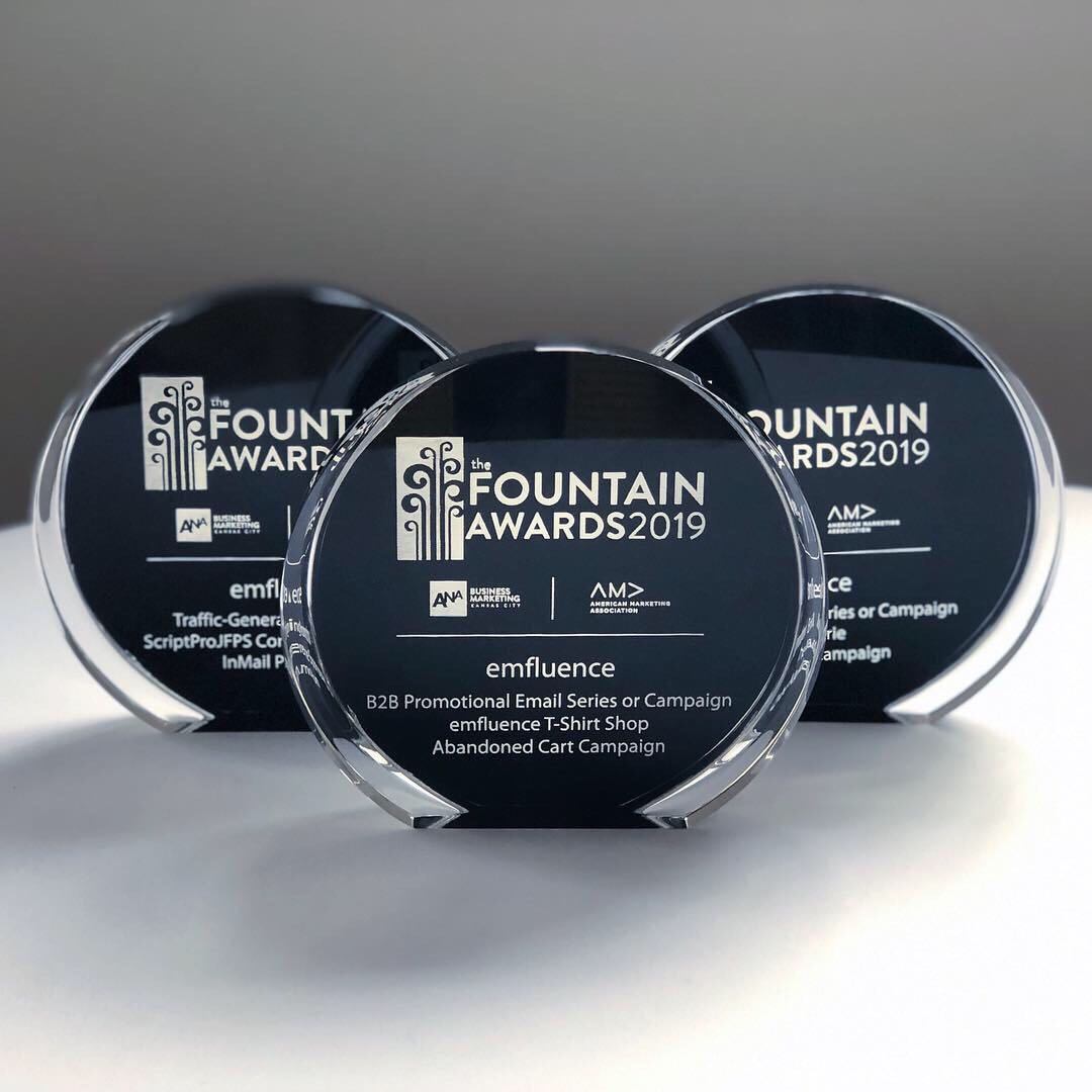 emfluence Celebrates Success at the 2019 Fountain Awards