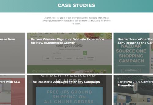 minimalist website navigation