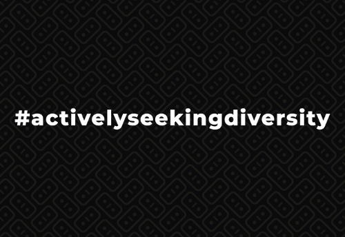 actively seeking diversity
